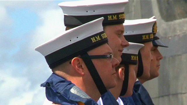 Британские моряки-подводники