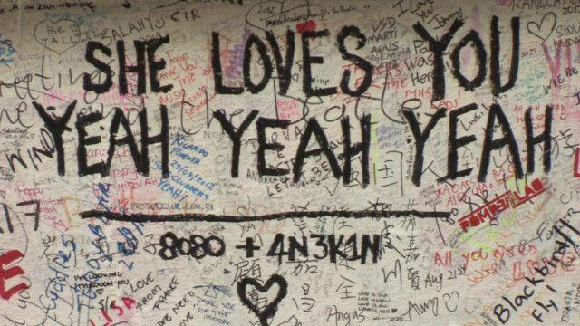 Стена студии на Эбби-роуд