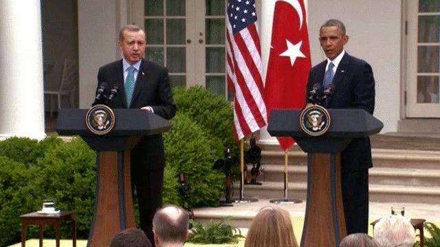 باراك أوباما ورجب طيب أردوغان