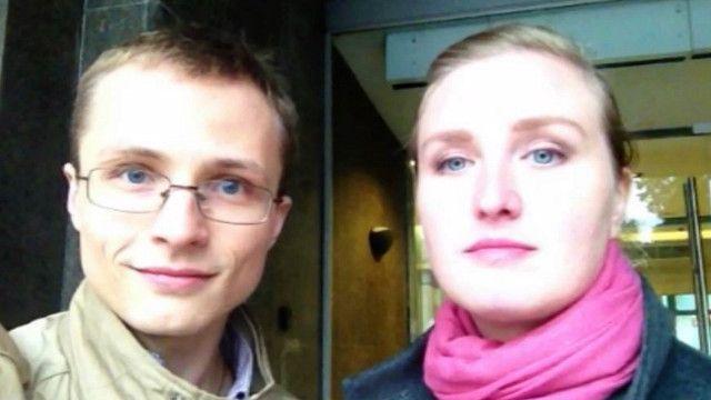 Дмитрий Булин и Оксана Вождаева