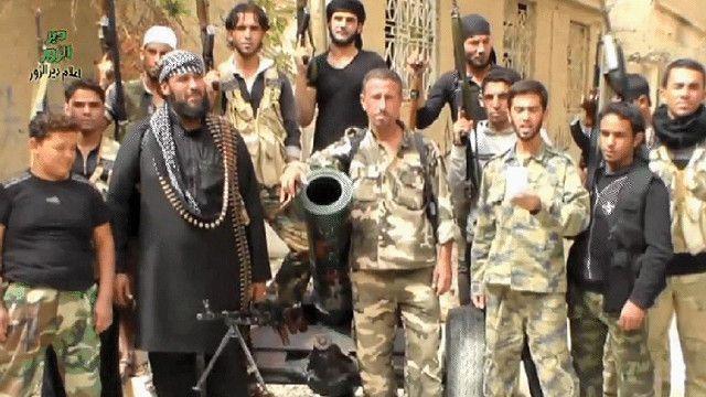 مجموعة إسلامية مسلحة تقاتل في سوريا