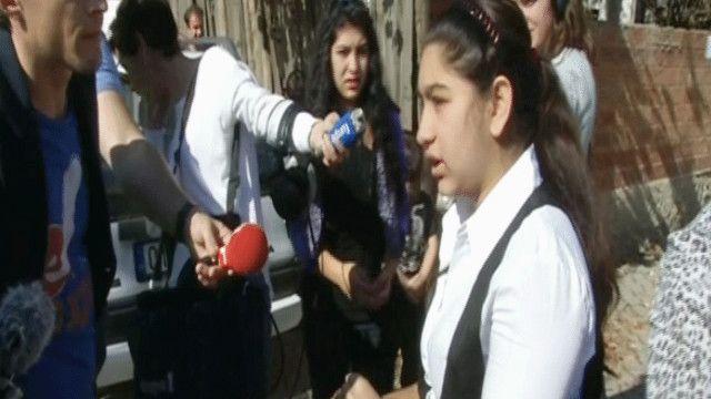ليوناردا ديبروني تتحدث إلى الصحافة