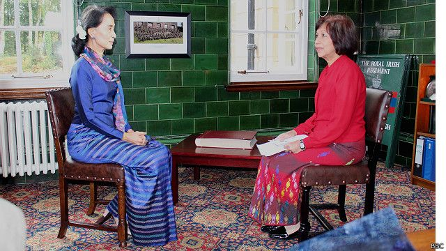 DASSK with BBC Burmese