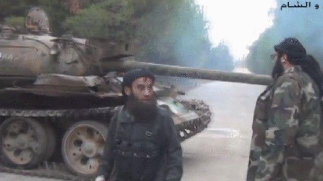 مسلحون من المعارضة السورية