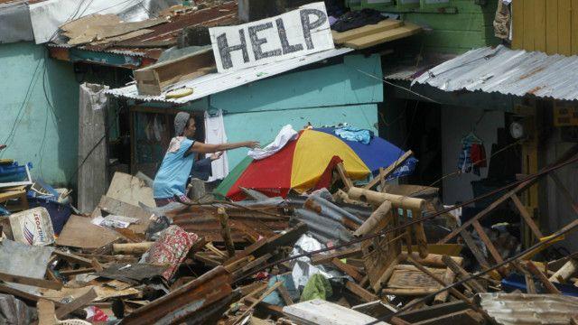 Tacloban, Philippines sau cơn bão Haiyan