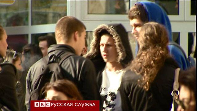 Студенты-медики в Софии