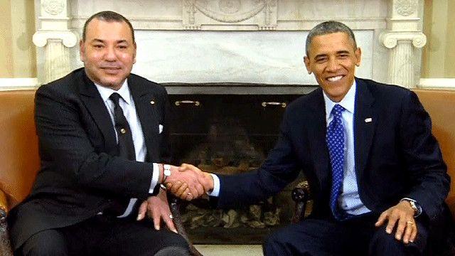 أوباما وملك المغرب