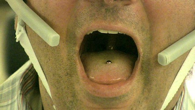 Piercing criado por cientistas. Imagem: cortesia de Maysam Ghovanloo