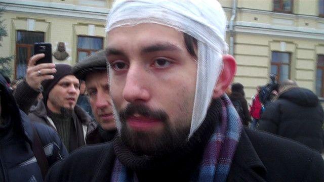 Євромайдан, сутички, беркут, розгін демонстрантів