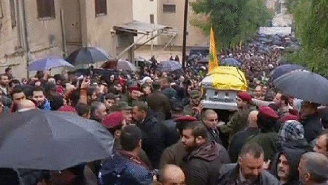 جنازة حسان اللقيس