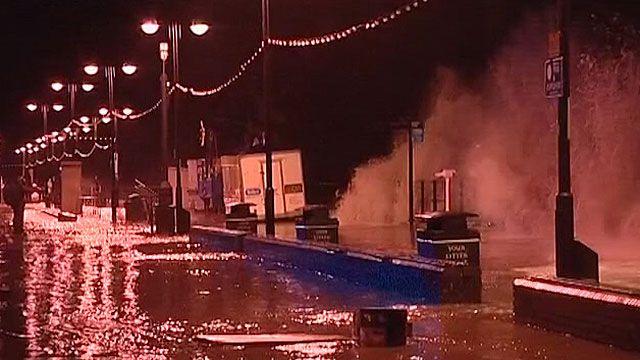 Região leste da Grã-Bretanha e Escócia foram as mais atingidas pela tempestade (BBC)