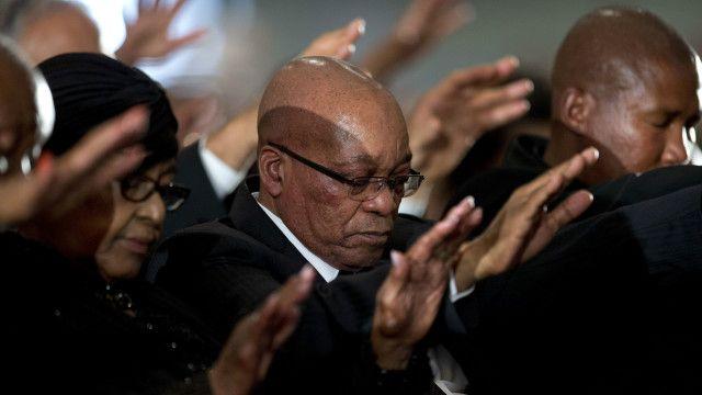 Gushingurwa ka Mandela