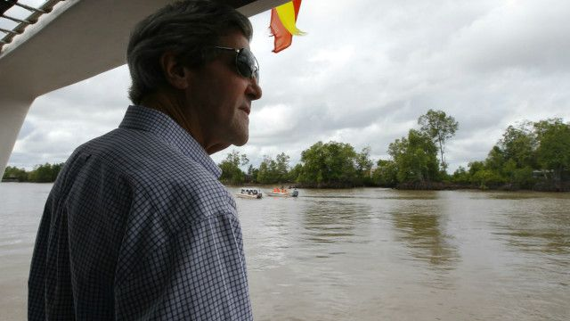 Ngoại trưởng Hoa Kỳ John Kerry thăm sông Mekong, Việt Nam