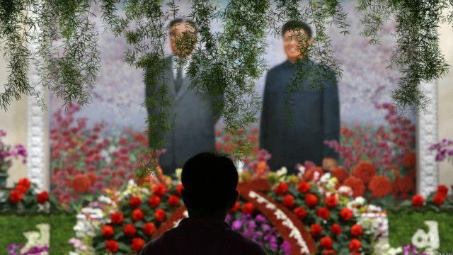 lễ tưởng niệm hai năm ngày mất Kim Jong-il