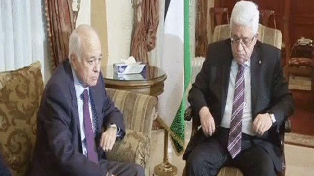العربي وعباس في اجتماع حول مفاوضات السلام