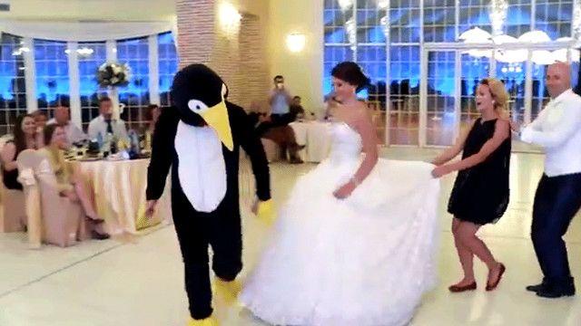 رقصة البطريق