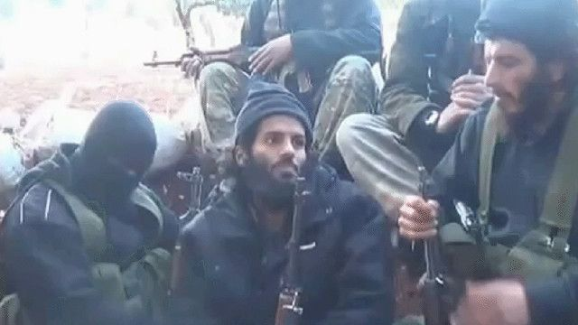 أعضاء من تنظيم الدولة الإسلامية في سوريا