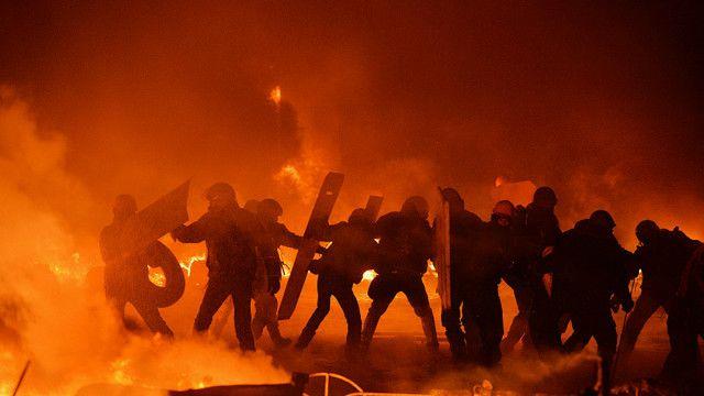 Bạo lực ở Kiev