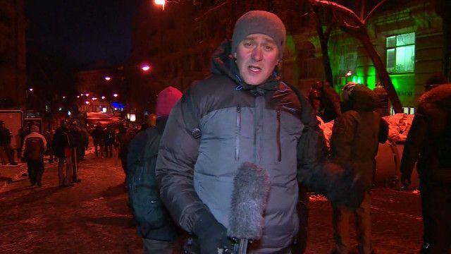 Корреспондент Би-би-си Олег Болдырев в Киеве