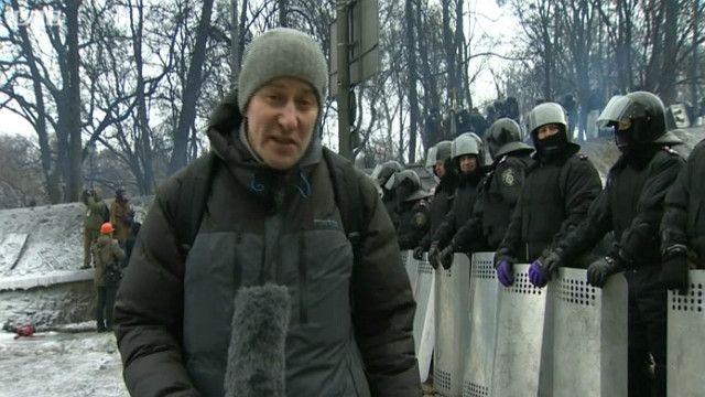Євромайдан, барикади, Болдирєв