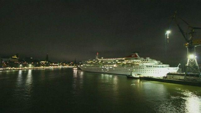 Navio de cruzeiro | Foto: BBC