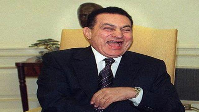 دعابات مبارك لم تكن في مكانها