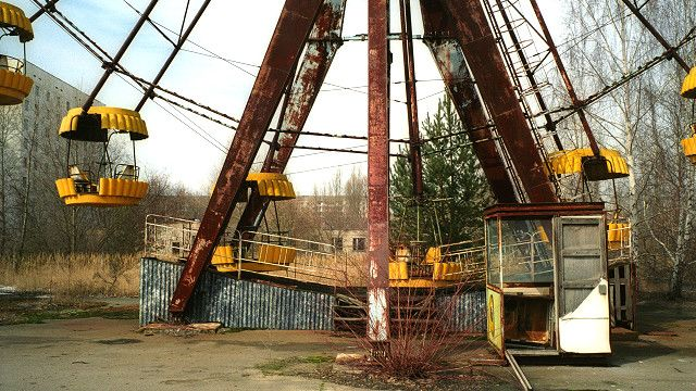 Pripyat, where Chernobyl's workers lived