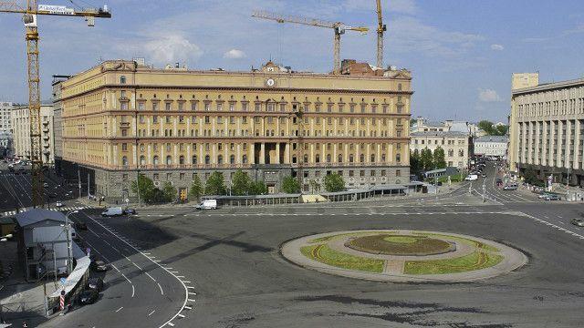 Лубянка без памятника Дзержинскому