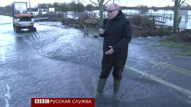 Корреспондент Русской службы Би-би-си Александр Кан в Чертси