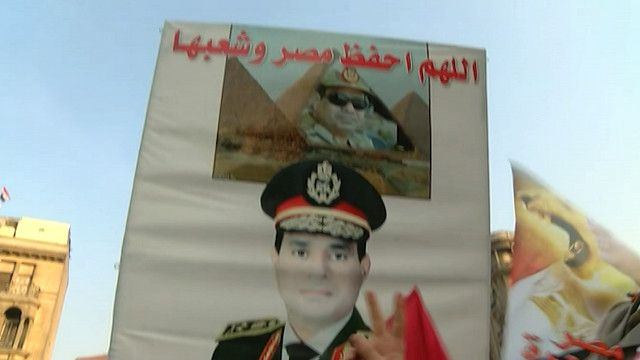 وزير الدفاع المصري المشير عبد الفتاح السيسي