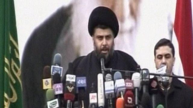 مقتدى الصدر رجل الدين الشيعي العراقي