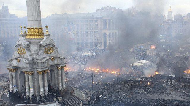 Imvururu muri Ukraine