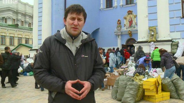 Корреспондент Русской службы Би-би-си Олег Болдырев