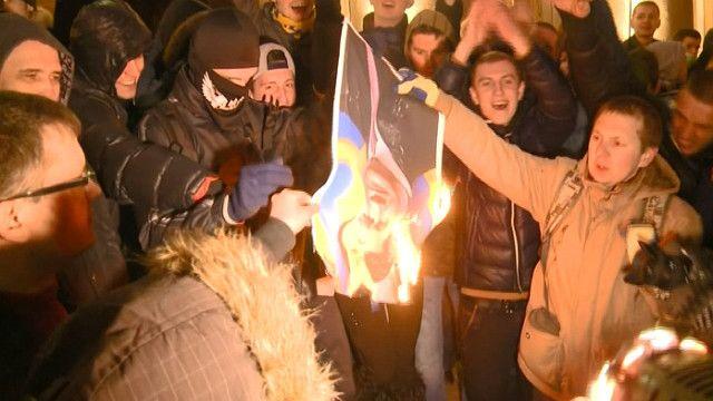 Харьков, протесты Майдан