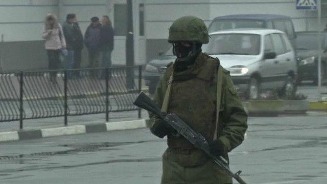 военные, Крым