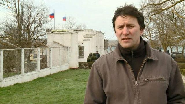 Украинская база в Крыму оккупирована без боя
