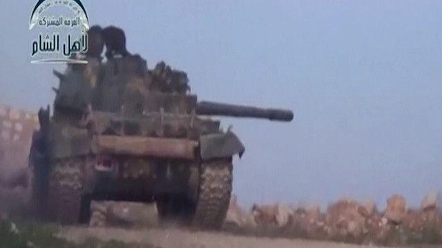 قتال في ريف اللاذقية بين الجيش السوري  والمعارضة المسلحة