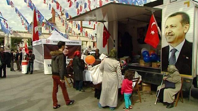 الانتخابات البلدية التركية