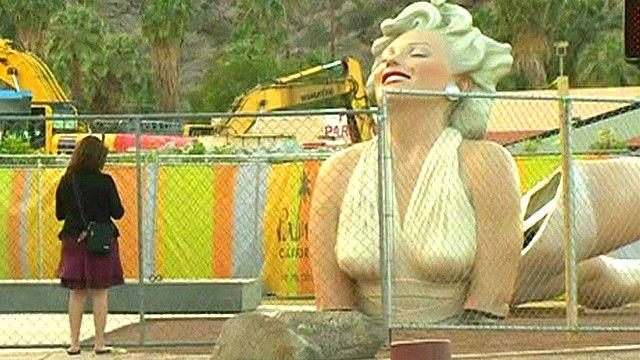 Escultura de Marilyn