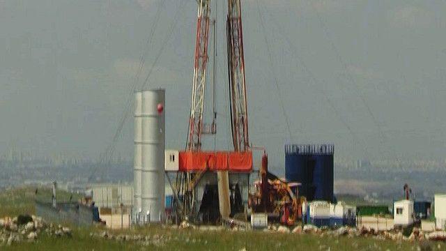 موقع للتنقيب عن النفط في الاراضي الفلسطينية