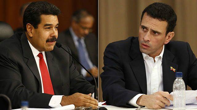 Maduro, Capriles