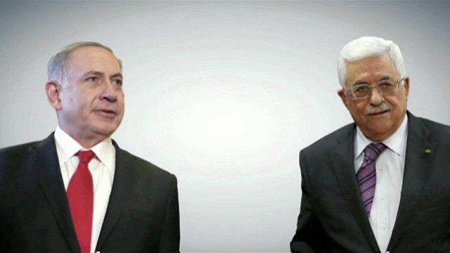 محمود عباس وبنيامين نتنياهو