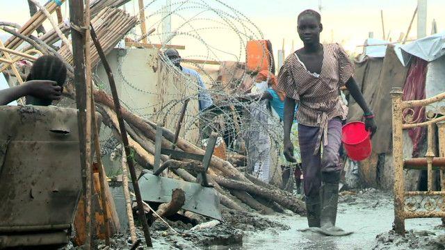 لاجئ من جنوب السودان