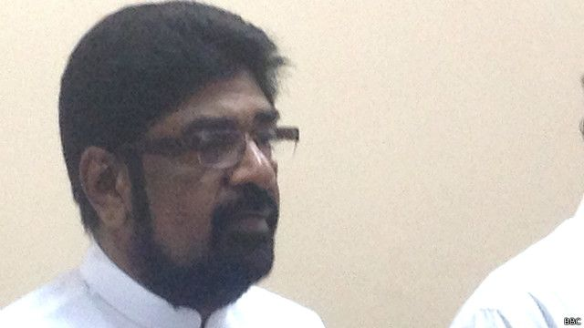 இலங்கை ஊடகத்துறை அமைச்சர் கெஹெலிய ரம்புக்வெல்ல