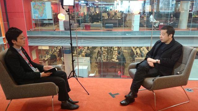 賈樟柯接受BBC記者子川專訪