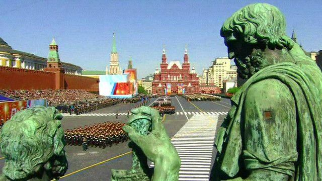 9 мая на Красной площади