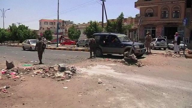 مبنى الشرطة العسكرية في مدينة المكلّا بمحافظة حضرموت