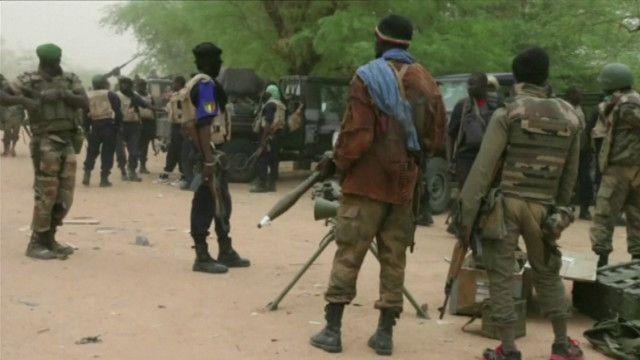 قوات تابعة للجيش المالي
