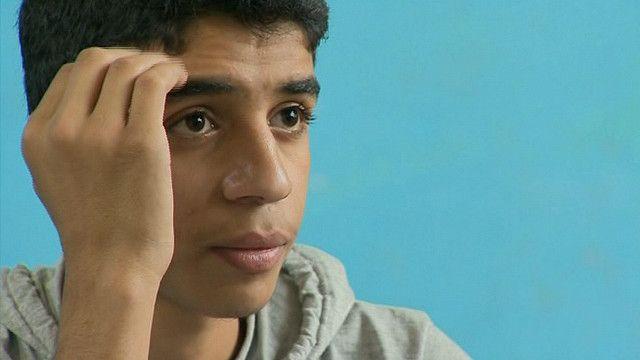 Estudiantes que salieron de Yarmuk