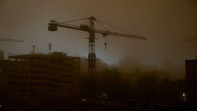 Tormenta de arena en Teherán